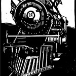 Engine 12, Tweetsie Railroad, 12 x 18, 2008