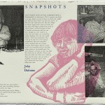 SWEAT: Snapshots, 12 x 18, letterpress, with John Dufrense, 2009