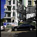 Miami Herald/ Art Basel Broadsheet-Banner Proposal, 2007, Mixed Media