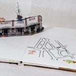 Sloppy Joe's, pop-up, map of Key West, Duval Street